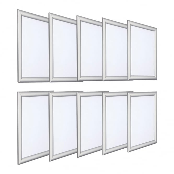 Silver-snap-frame